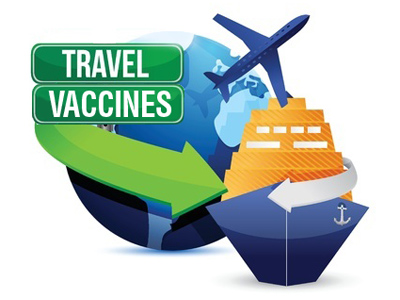 Travel vaccinations or travel immunizations